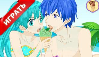 Аниме мороженое