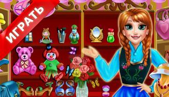 Анна в бутике шопинга