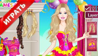 Барби – цветная невеста