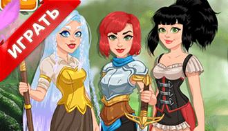 Девушки воины