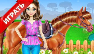 Езда и уход за лошадью