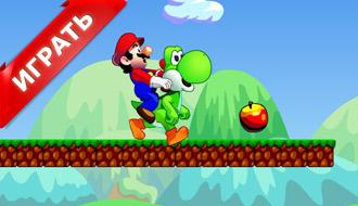 Флэш игра Марио