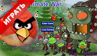 Злые птички против зомби