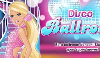 Барби учится танцевать