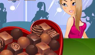 Любительница шоколада