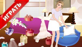 Игры для девочек уборка