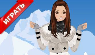 Игры зимние одевалки