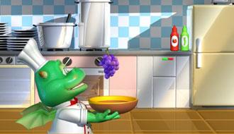 Кухня динозаврика