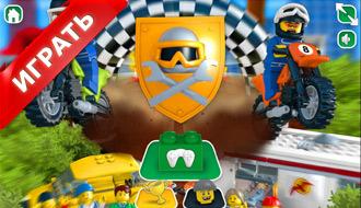 Лего на мотоциклах