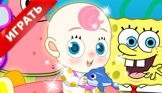 Патрик и Губка Боб онлайн