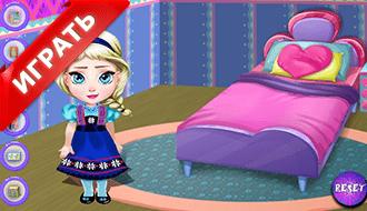 Малышка Эльза – Украшение комнаты