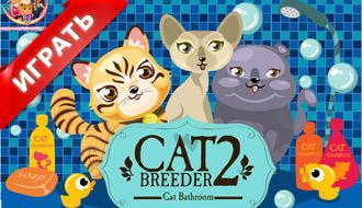 Мыть кошек онлайн