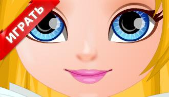 Прическа малыша Барби
