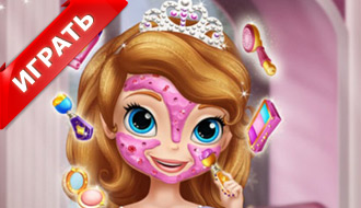 Реальный макияж Софии