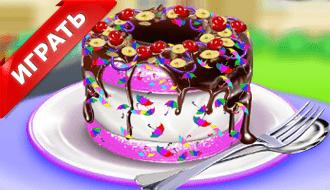 Шоколадный торт 2