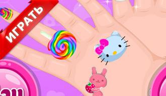 Сумасшедшие ногти Барби