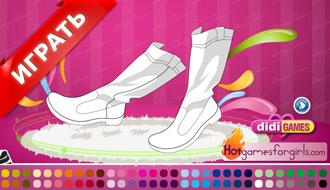 Туфельки для девочек на каблуках