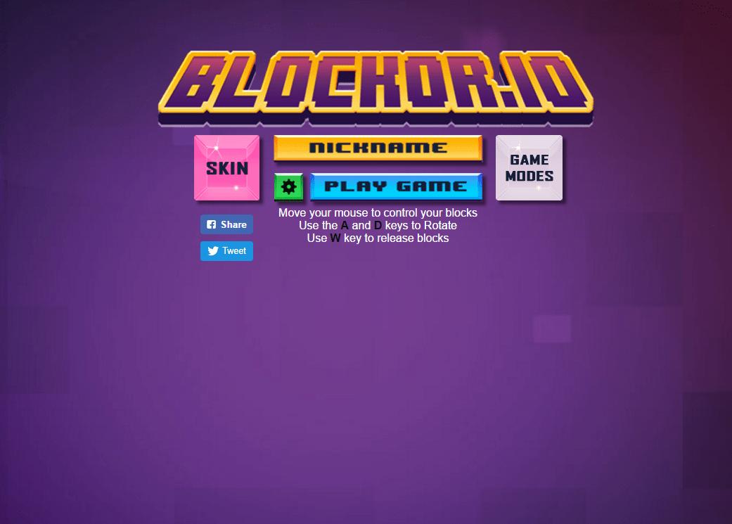 Игры Blockor.io