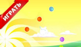 Игра про прыгающего котенка