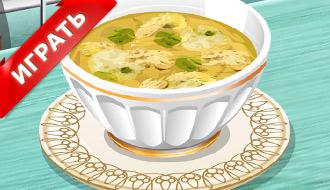 Кухня Сары: Супчик с клецками
