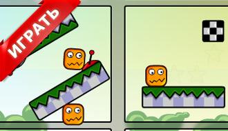 Прыгучий кубик