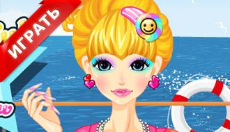 Игра - радужный макияж