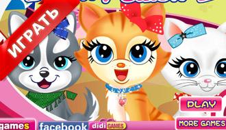 Игры салон кошек