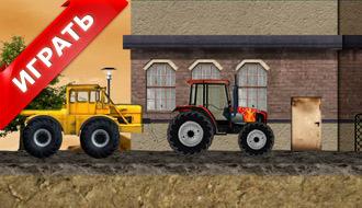 Игры гонки на тракторе
