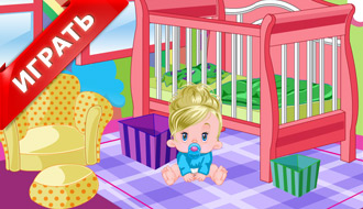 Украшение комнаты ребенка