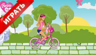 Игры барби на велосипеде