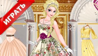 31 бальное платье для Эльзы
