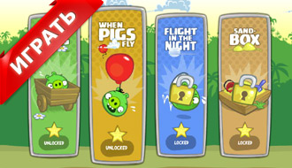 Игры Bad Piggies 2
