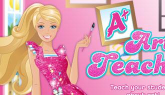 Барби учительница