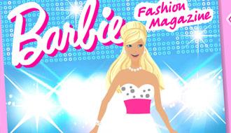 Барби в модном журнале