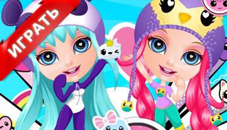 Детская одевалка Барби