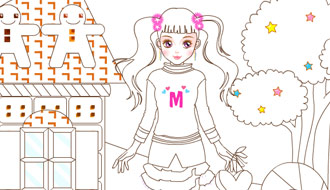 Раскраска - Mimi