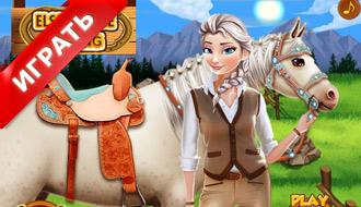 Эльза – Уход за лошадью