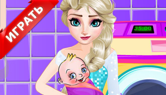 Эльза с ребенком