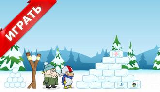 Финес и Ферб: Битва снежками