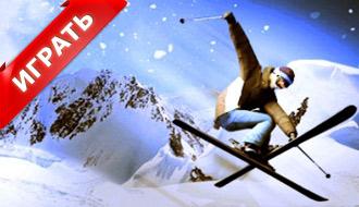 Гонка на горных лыжах