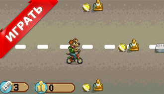 Гонки на велосипеде на двоих