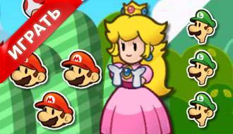Марио пазлы