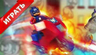 Капитан Америка на мотоцикле