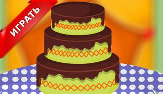 Украшаем тортик