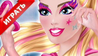 Макияж Супер Барби 2015