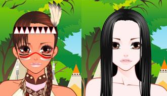 Игры макияж для девушки