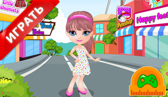 Малышка Барби идет в школу