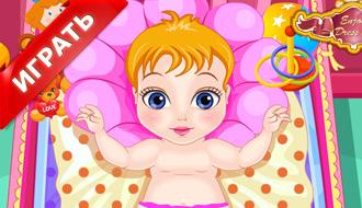 Малышка на день Святого Валентина