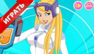 Одевалка девушки-робота