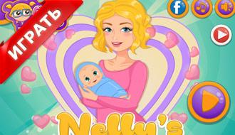 Одевалка: Мама и малыш